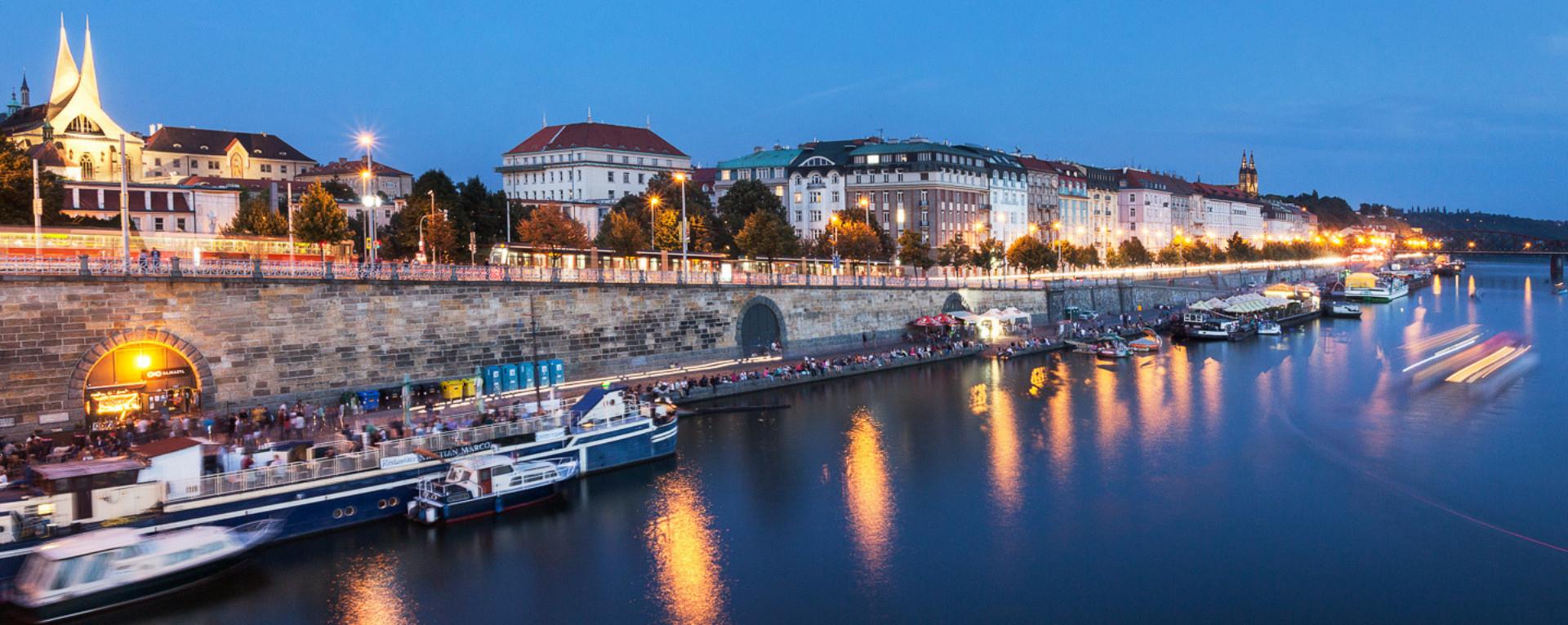 Současnost a budoucnost pražských náplavek