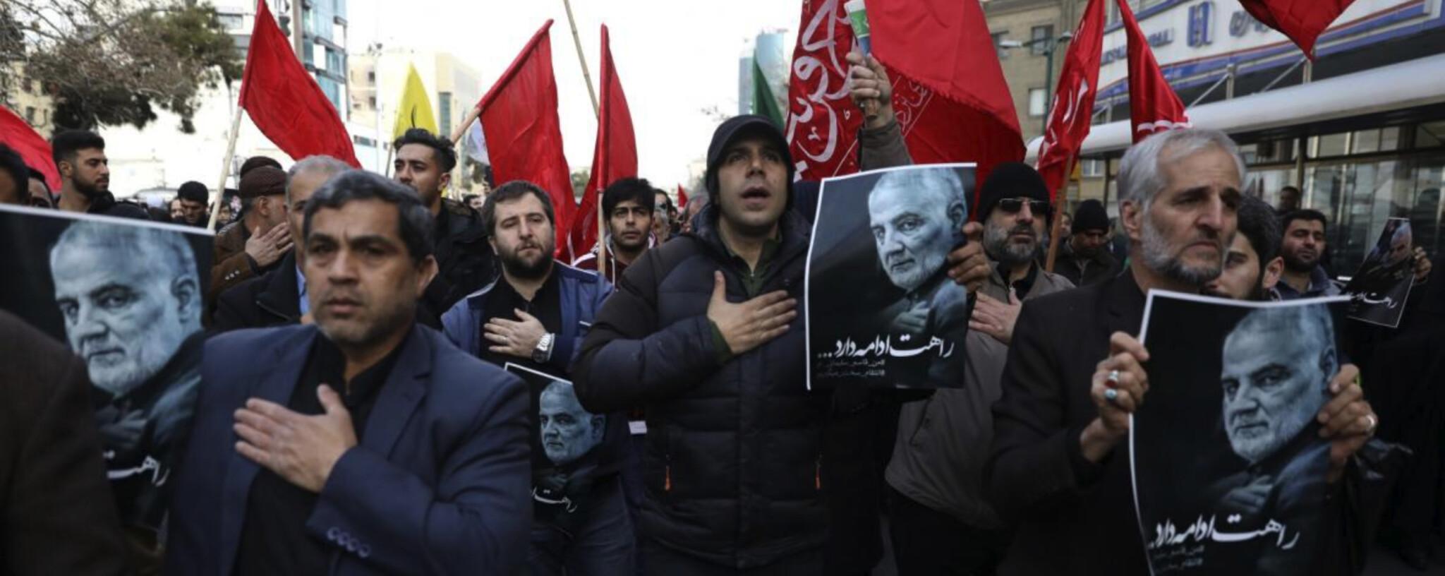 Motiv a důsledky zabití Kásima Sulejmáního